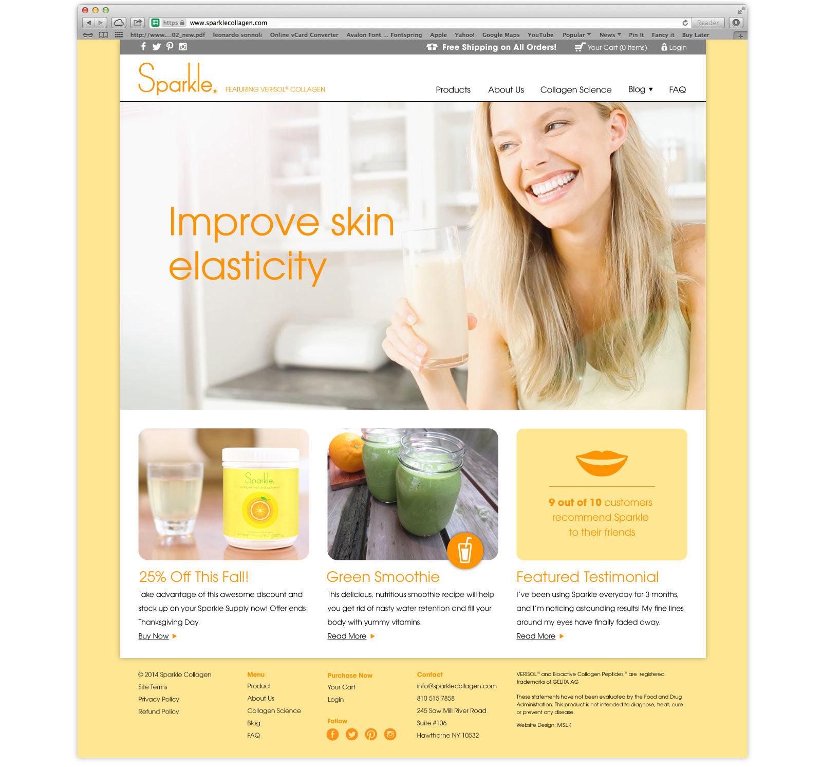 website-design-wellness-lifestyle-brand