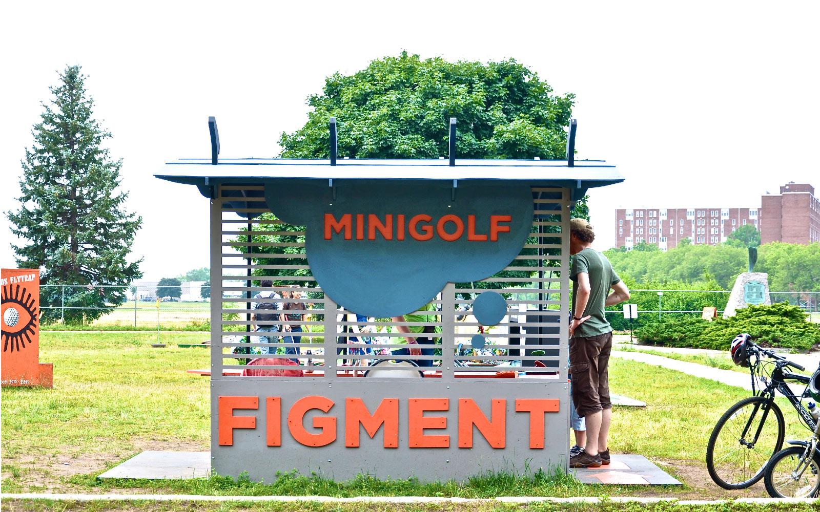 Figment-Minigolf